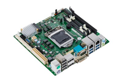 Mainboard D3433-S - side view