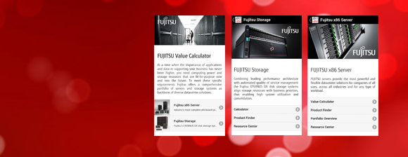Fujitsu Value Calculator App
