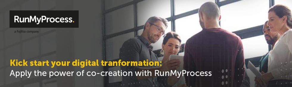 Co-creation with RunMyProcess