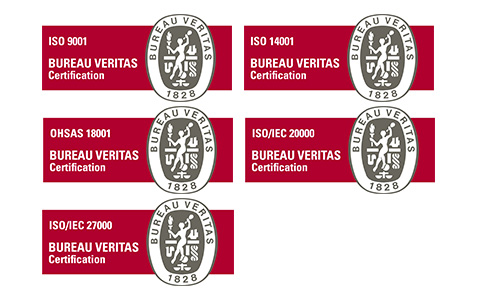 Fujitsu and Bureau Veritas Certifications