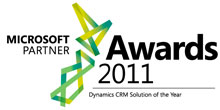 Fujitsu - Winner of the Microsoft Dynamics CRM Soultion of the Year award
