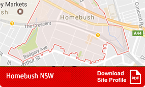 Site profile Homebush