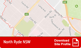 Site profile north ryde