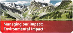 Fujitsu Sustainability - Managing our impact Environmental Impact