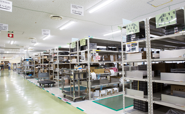 Fujitsu IT Products' Warehouse