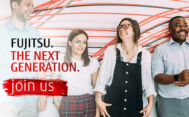 Fujitsu. The next generation. Join us.