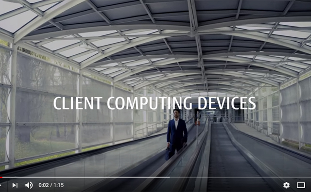 Video - Fujitsu Client Computing Devices for every use case
