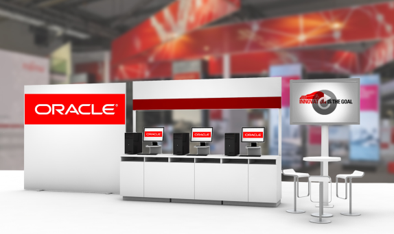 Oracle Virtual Booth