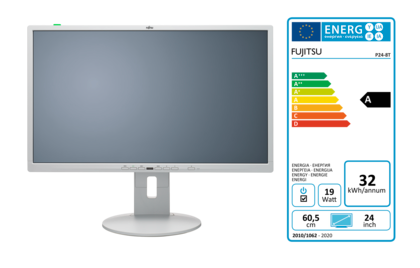Display P24-8 TE Pro with EEC label A