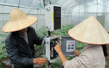 ICT-based agricultural field trial in Vietnam