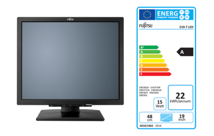 Display E19-7 LED with EEC label A