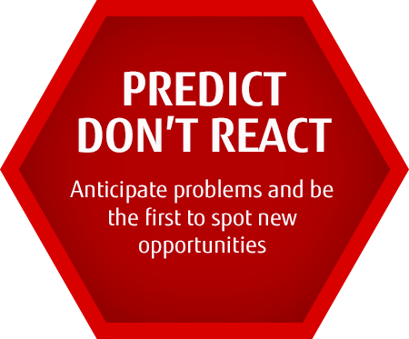 PREDICT DON'T REACT