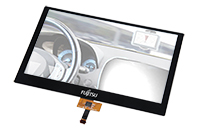 Fujitsu Projected Capacitive Touch Panel for Automotive Applications