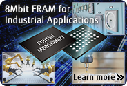 8Mbit FRAM for Industrial Applications