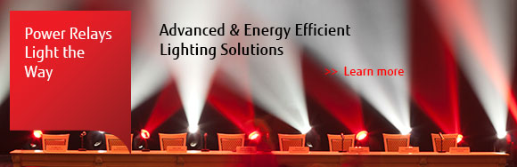 Fujitsu Power Relays Light the Way - Advanced & Energy Efficient Lighting Solutions