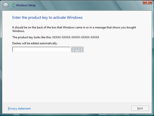 windows 8.1 install without key