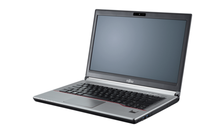 LIFEBOOK E744 - right side, with reflection