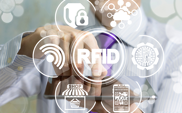Image illustrating some of the uses of RFID