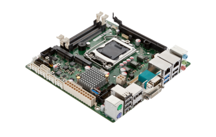 Mainboard D3243-S - side view