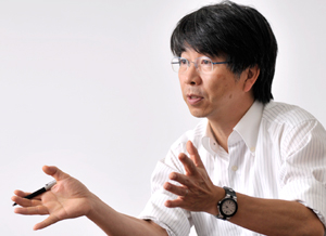 Chiseki Sagawa, Senior Vice President of the Software Integration Business Group