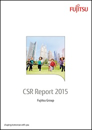 CSR Report 2015 Cover Page