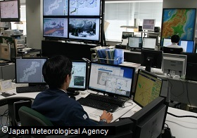Picture: Forecast operations room