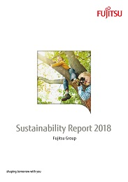 Sustainability Report 2018 cover page