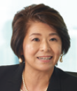 Picture: Ms. M Eda President, Intel K.K. (Japan) Vice President, Sales and Marketing Group, Intel Corporation