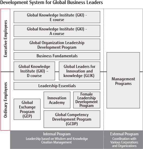 Development System for Global Business Leaders