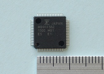 MB91F552 Sample Picture