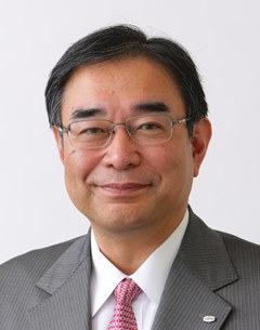 Picture: Masami Fujita, Corporate Senior Executive Vice President and Representative Director (Head of Global Corporate Functions)
