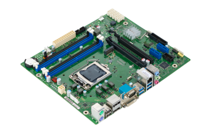 Mainboard D3402-B - side view