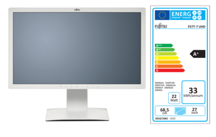 Display P27T-7 UHD with EEC label A+