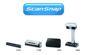 Fujitsu ScanSnap document scanner family
