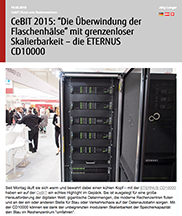 Fujitsu Aktuell: Hyper-Scale Storage System ETERNUS CD10000 mit Open-Source-Software Ceph