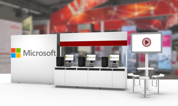 Microsoft Virtual Booth