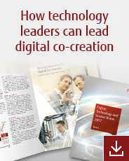 How technology leaders can lead digital co-creation