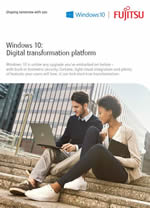 Windows 10 brochure cover