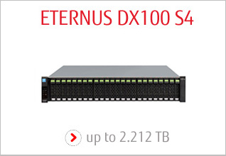 FUJITSU Storage ETERNUS DX100 S4