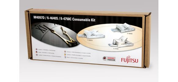 M4097D / fi-4640S / fi-4750C Consumable Kit from Fujitsu