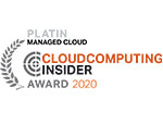 Platin Cloud Computing Insider Award 2020