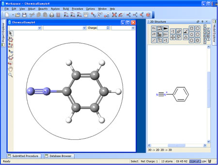 Chemical Structure Editor