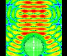 Multilayer sphere irradiated by electromagnetic waves