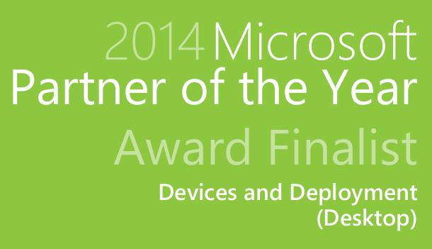 2014 Microsoft Worldwide Partner Award (Finalist)