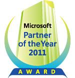 マイクロソフト パートナー オブ ザ イヤー 2011
