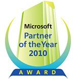 マイクロソフト パートナー オブ ザ イヤー 2010