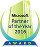 マイクロソフト ジャパン パートナー オブ ザ イヤー 2016