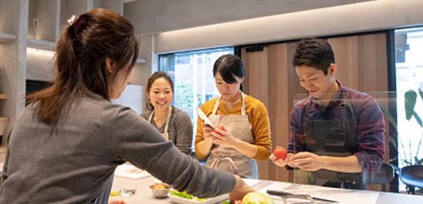 クラウド導入事例 京葉ガス株式会社様 料理教室のイメージ写真