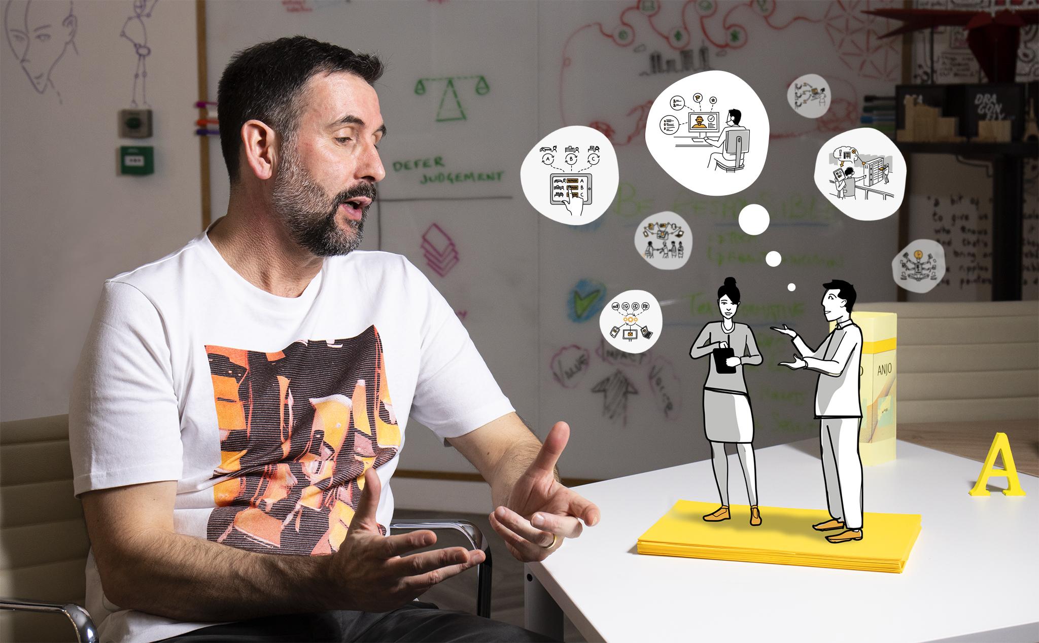 Main visual : Co-creating in a virtual world