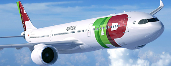 TAP Portugal airoplane flying